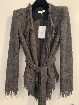 Iro Coarse Knitted Jacket khaki