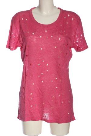 Iro T-Shirt pink Casual-Look