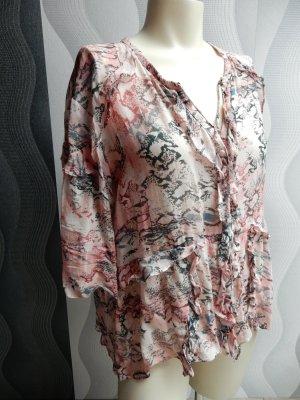 Iro Blusa a tunica rosa-grigio Viscosa