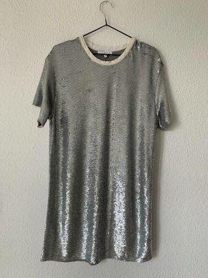 Iro Cocktail Dress silver-colored-dark grey