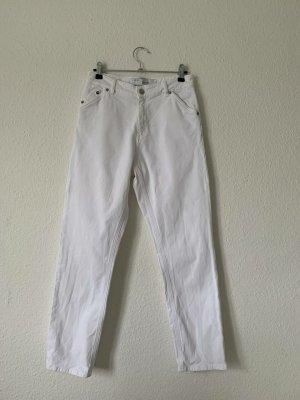 Iro High Waist Trousers white