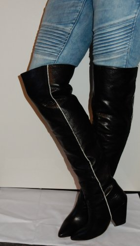 Irre Stiefel  Iro Luxus Marke Gr. 40 Overknees