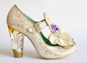 Irregular choice Zapatos de tacón con barra en T multicolor Cuero