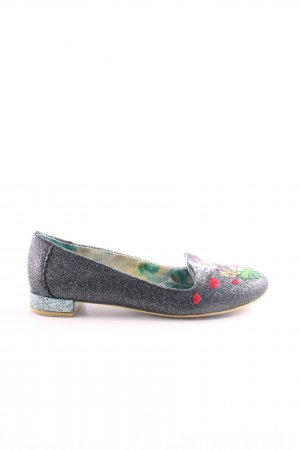 Irregular choice Foldable Ballet Flats flower pattern casual look