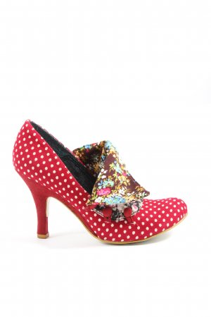 Irregular choice Hochfront-Pumps Punktemuster Casual-Look