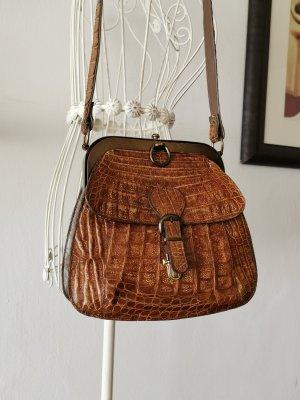 IRV Tasche Vintage aus Krokodilenleder