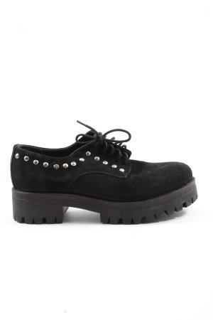 IS TO ME Sznurowane buty czarny W stylu casual