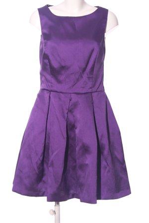 Isaac Mizrahi Cut-Out-Kleid lila Elegant