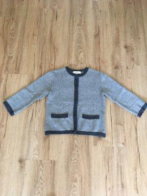 Isaac Mizrahi Smanicato lavorato a maglia grigio-grigio scuro