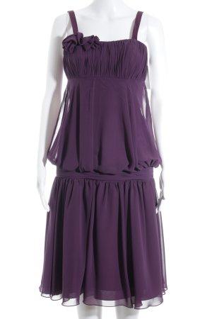 Isabel de Mestre Abendkleid dunkelviolett Elegant