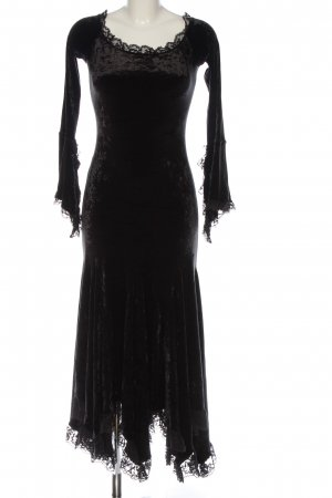 Isabel de Pedro Abendkleid schwarz Elegant