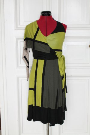 Isabel de Pedro Halter Dress multicolored viscose