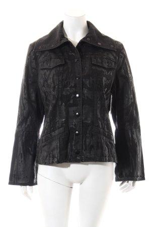 Isabel de Pedro Übergangsjacke schwarz extravaganter Stil