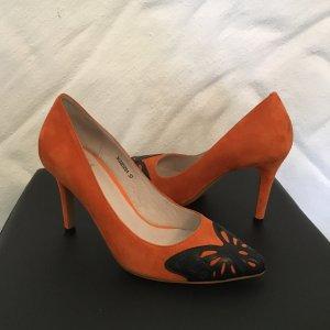 ISABEL LICARDI High Heel Schmetterling orange 37-NP 90€