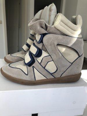 Isabel Marant Sneaker con tacco multicolore