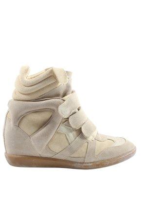 Isabel Marant Absatz Sneaker wollweiß Casual-Look