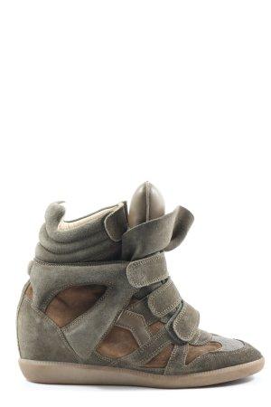Isabel Marant Absatz Sneaker braun Casual-Look