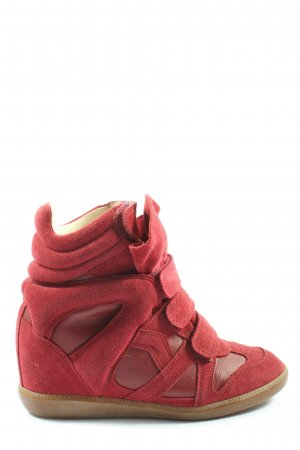 Isabel Marant Heel Sneakers red casual look