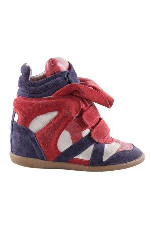 Isabel Marant Absatz Sneaker mehrfarbig Street-Fashion-Look