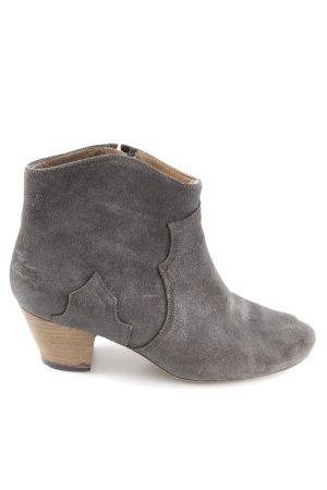 Isabel Marant Ankle Boots dunkelgrau-hellbraun Casual-Look