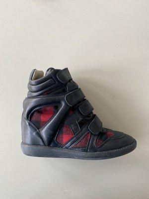 Isabel Marant Beket Sneakers Gr. 38 mit Tartan-Muster