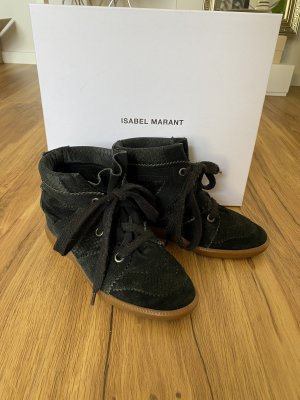 Isabel Marant Wedge Sneaker black