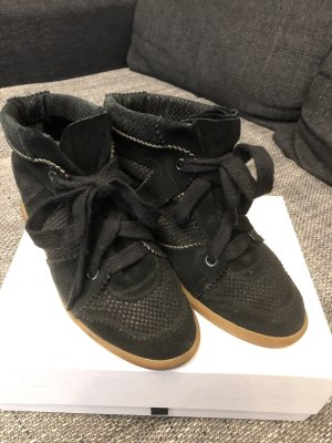 Isabel Marant High top sneaker zwart