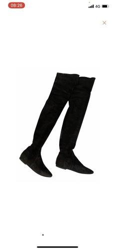 Isabel Marant Étoile Buty nad kolano czarny
