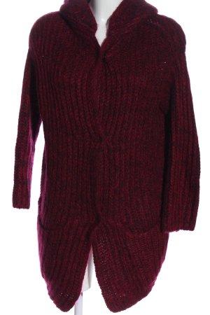 Isabel Marant Kardigan czerwony Melanżowy W stylu casual