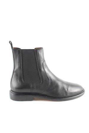 Isabel Marant Chelsea Boots schwarz Business-Look