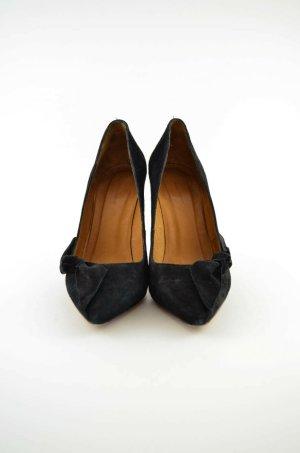 ISABEL MARANT Damen Pumps High Heels Mod.Lilly Shoes Schwarz Verlousleder Gr.38