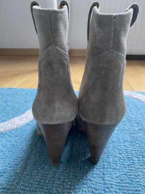 Isabel Marant Étoile Low boot taupe cuir