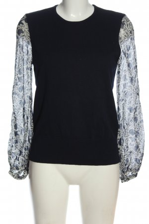 Isabel Marant Étoile  nero-bianco sporco motivo floreale stile casual
