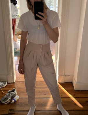 Isabel Marant Etoile Hose Workpants Rose Rosa High-Waist 34