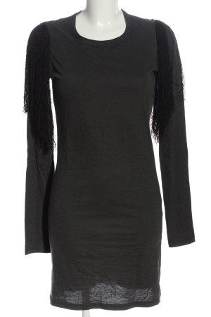 Isabel Marant Étoile Abito a maniche lunghe grigio chiaro stile casual