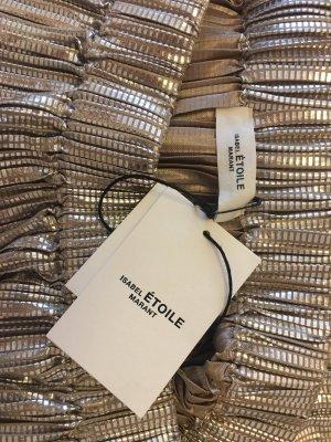 Isabel Marant Etoile metallic delpha skirt short