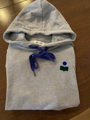 Isabel Marant Étoile Pull à capuche gris clair-gris