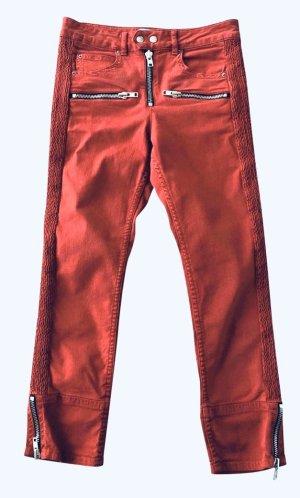 Isabel Marant Étoile Vaquero de motero rojo-rojo ladrillo Algodón