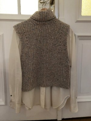 Isabel Marant Étoile Fine Knitted Cardigan oatmeal cotton