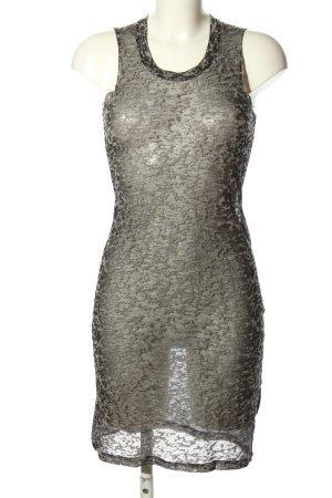 Isabel Marant Étoile Abito elasticizzato marrone-bianco sporco stampa integrale