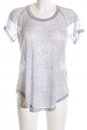 Isabel Marant Étoile T-Shirt hellgrau meliert Casual-Look