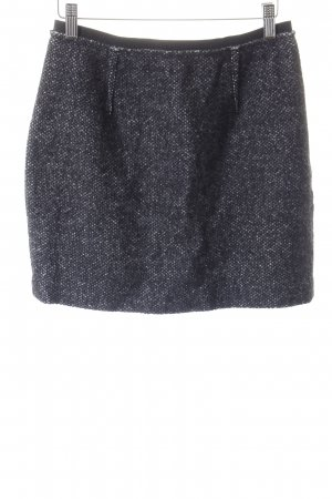 Isabel Marant Étoile Wool Skirt black-natural white flecked elegant