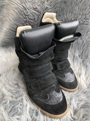 Isabel Marant Sneaker con tacco nero