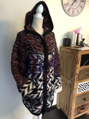 Isabel Marant pour H&M Manteau en laine multicolore laine alpaga
