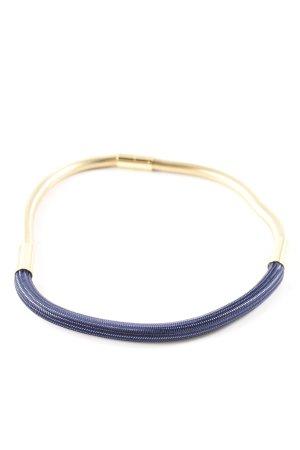 Isabel Marant Halskette goldfarben-blau Casual-Look