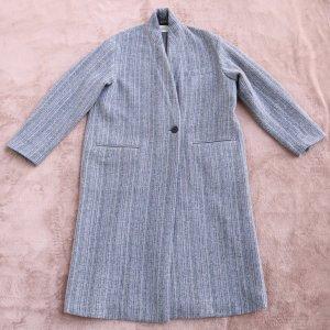 """Isabel Marant """"Henlo"""" Oversized Mantel in Grau/ Lila"""