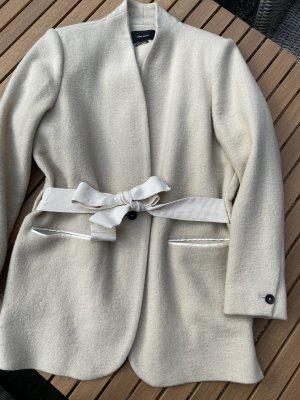 Isabel Marant Veste en laine blanc cassé laine