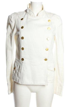 Isabel Marant Blazer in jeans bianco stile casual