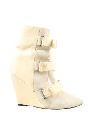 Isabel Marant Wedge Booties natural white elegant