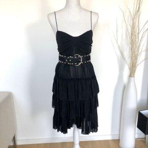 Isabel Marant Kleid S 36 Schwarz 100% Seide